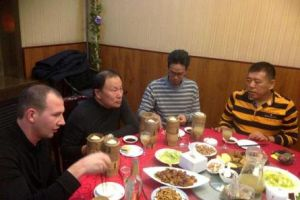 Erpw visit Mr.Xue in Tianjin - China