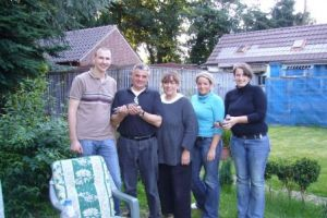 Erpw visit Familie Menne & daughters,de